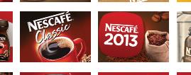Nescafe - bannery jubileuszowe